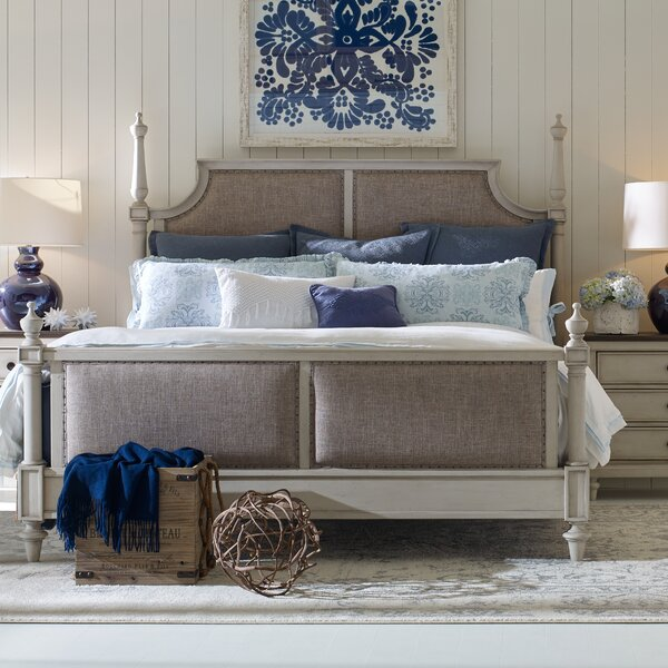 Ornithogale Upholstered Platform Bed by Lark Manor