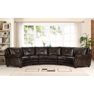 Beatris Leather Sectional By Red Barrel Studio