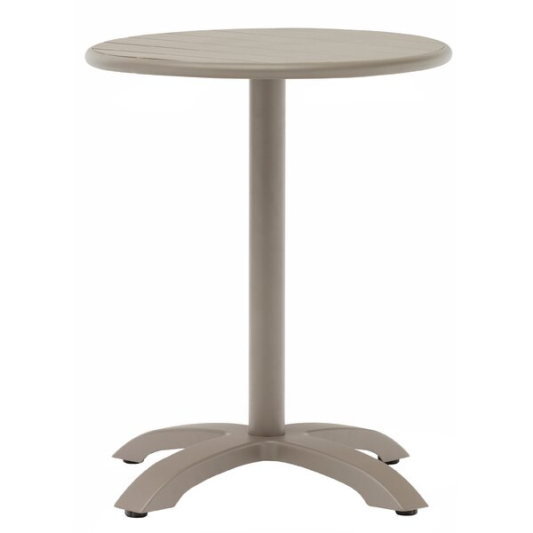 Outdoor Round Aluminum Dining Table by H&D Restaurant Supply, Inc.