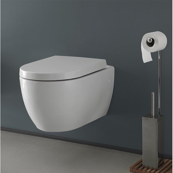 City 1.2 GPF Elongated Toilet Bowl by CeraStyle by Nameeks