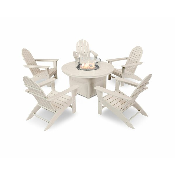 Vineyard Adirondack 6 Piece Multiple Chairs Seating Group by POLYWOOD®