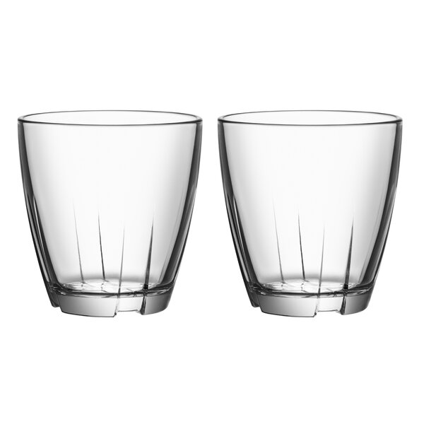 Bruk 6.6 oz. Tumbler (Set of 2) by Kosta Boda