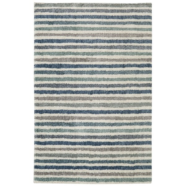 Norvell Blue Area Rug by Mercury Row