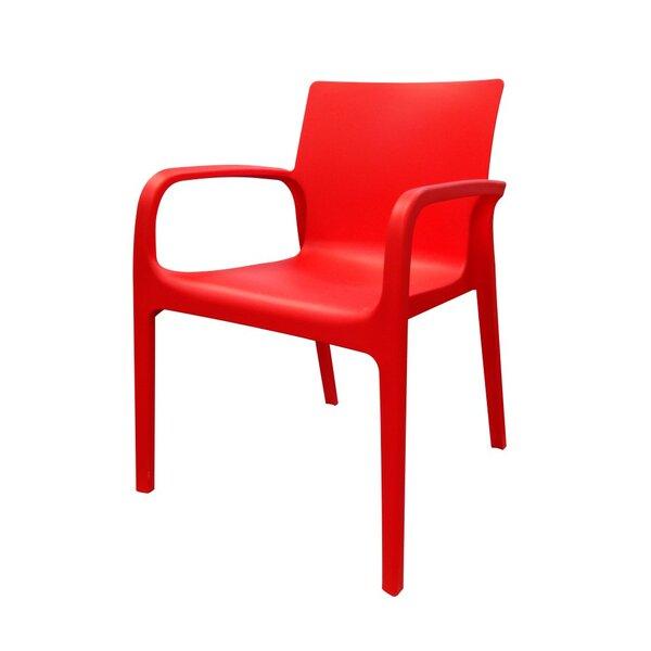 Loggins Patio Dining Chair (Set of 4) by Brayden Studio