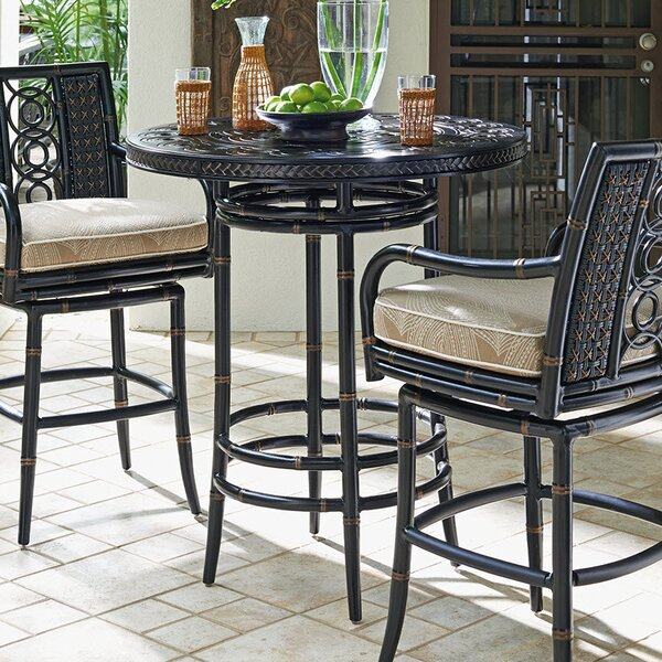 Marimba Wooden Bistro Table by Tommy Bahama Outdoor