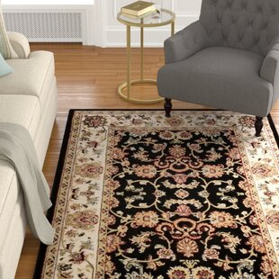 Buy clear Reneau Oriental Black/Beige Area Rug ByAstoria Grand