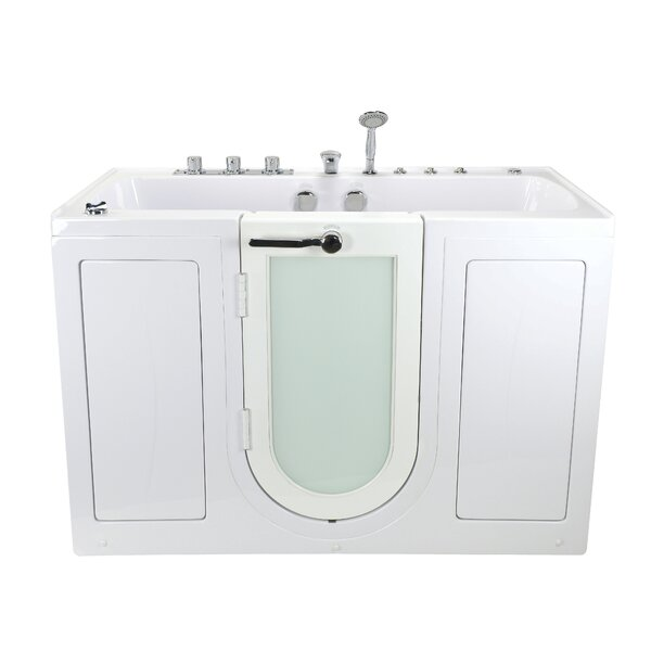 Tub4Two Dual Massage 31.75 x 60 Walk-in Whirlpool by Ella Walk In Baths