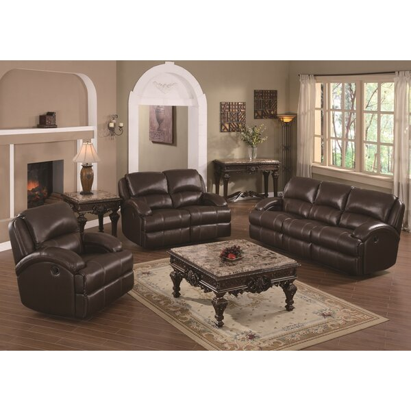Child Reclining Configurable Living Room Set by Darby Home Co