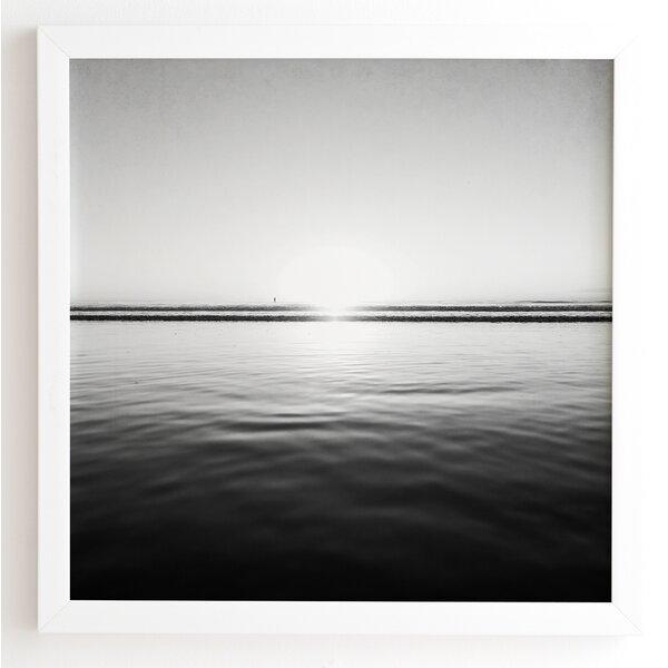 Calm Sea Framed Photographic Print by Latitude Run