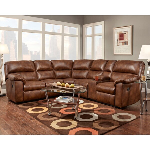 Lachelle Home Theater Seating Reclining Sectional by Red Barrel Studio