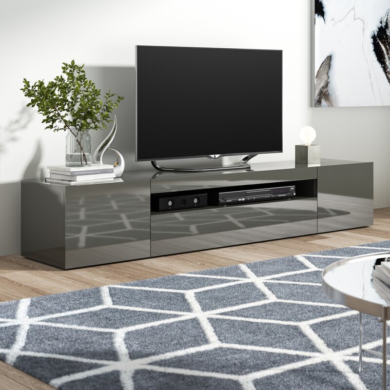 Orren Ellis Hobart Tv Stand For Tvs Up To 78 Quot Amp Reviews