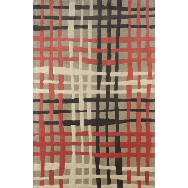 Courtney Hand Tufted Sorbet Area Rug by Latitude Run