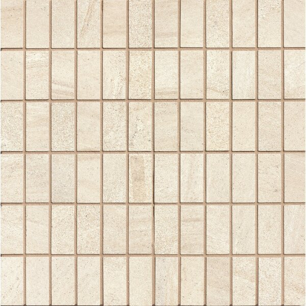 Purestone 1 x 2 Porcelain Mosaic Tile in Beige by Bedrosians