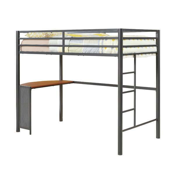 Nedra Twin Loft Bed by Harriet Bee