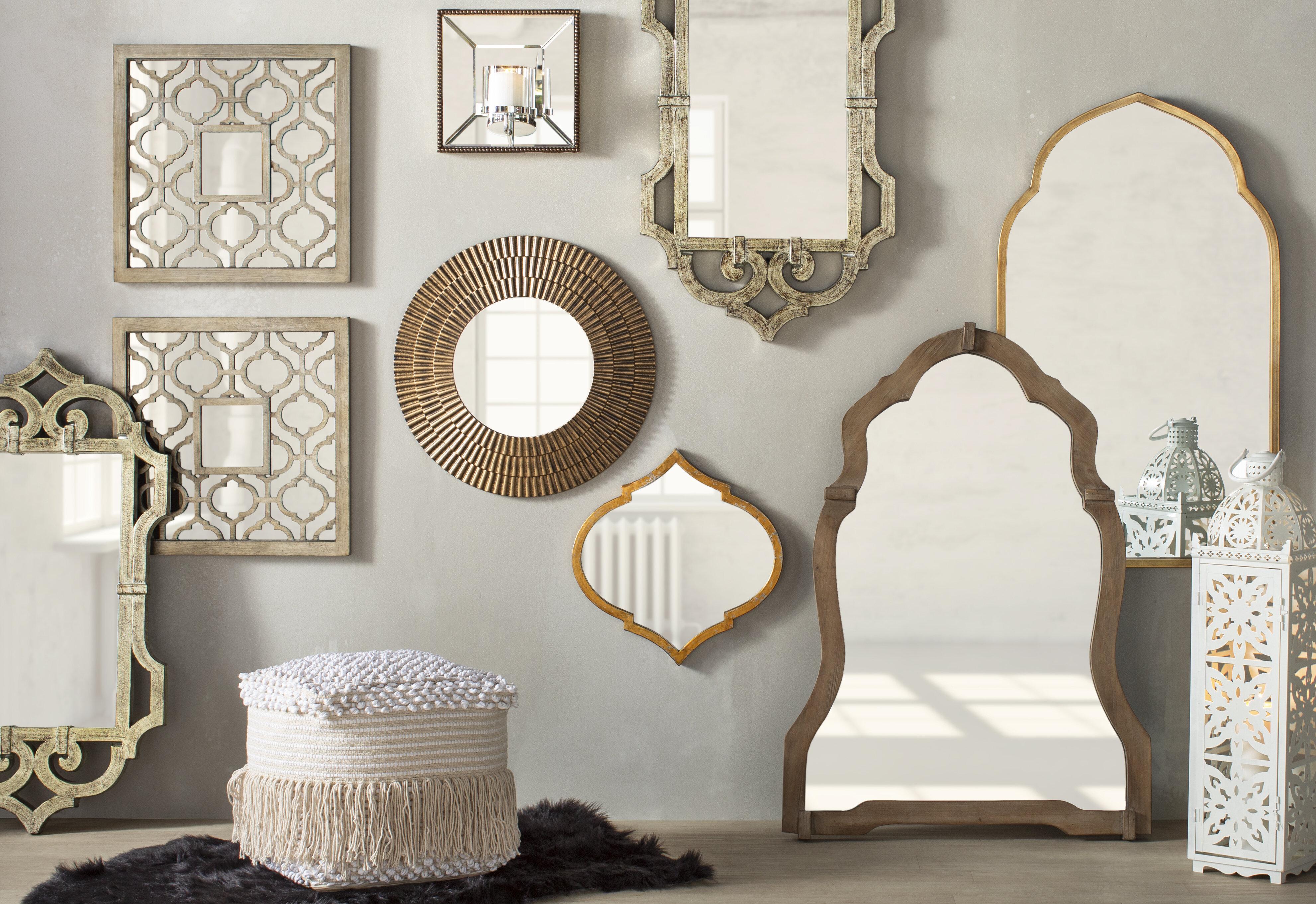 10 Dazzling Wall Mirror Decor Ideas