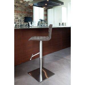 Jam Adjustable Height Swivel Bar Stool by Domitalia