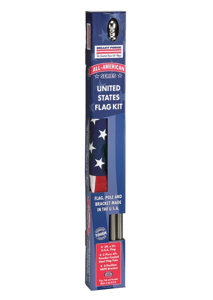 All American Flag Set by Valley Forge Flag