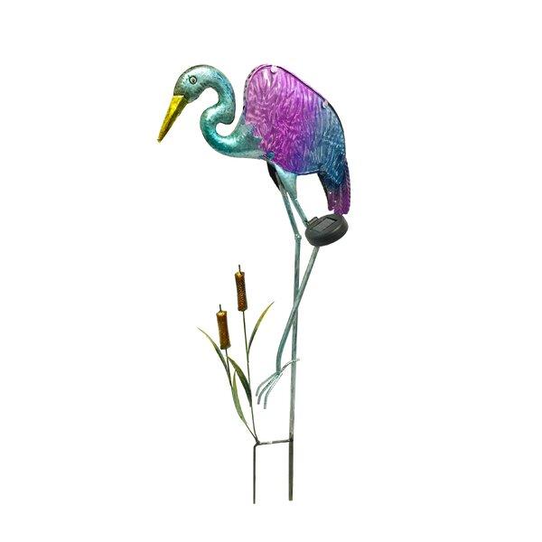 Heron Garden Stake by Continental Art Center