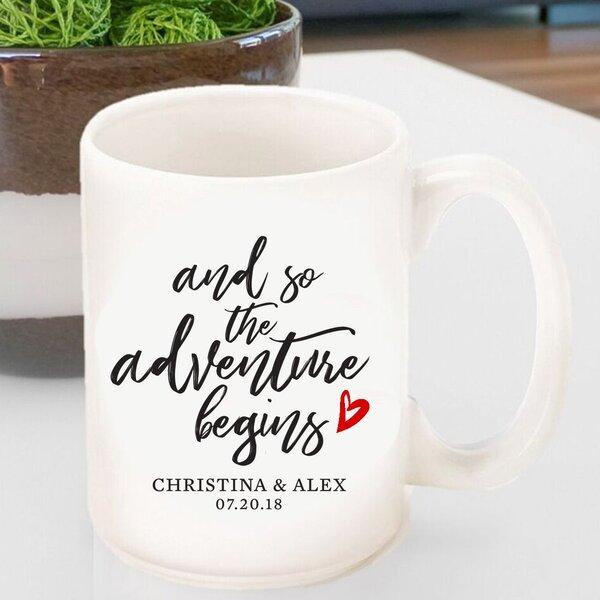Hartin Personalized Adventure Coffee Mug by Winston Porter
