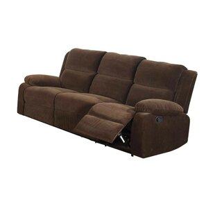 Looking for Garduno Leatherette Motion Reclining Sofa ByRed Barrel Studio