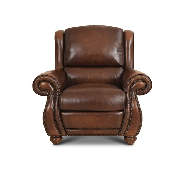 Roush Leather Power Recliner by Red Barrel Studio Red Barrel Studio
