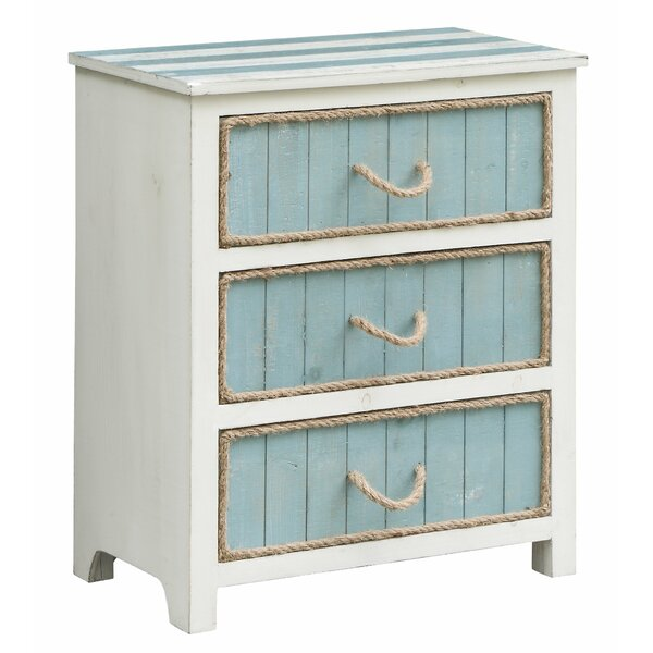 Harrill 3 Drawer Accent Chest by Highland Dunes Highland Dunes