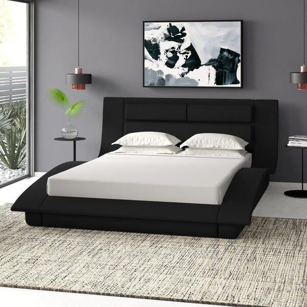 Galeton Upholstered Platform Bed by Wade Logan