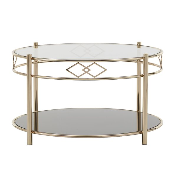 Lenard Coffee Table By Everly Quinn