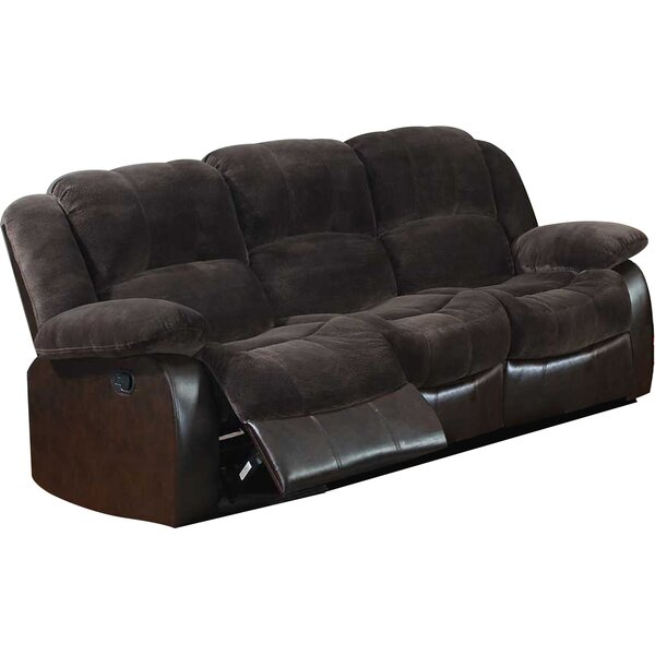 Best #1 Perrysburg Reclining Sofa By Winston Porter