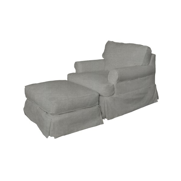 Telluride Armchair and Ottoman (Set of 4) by Laurel Foundry Modern Farmhouse