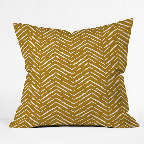 Iveta Abolina La Jardin Noir Throw Pillow by East Urban Home