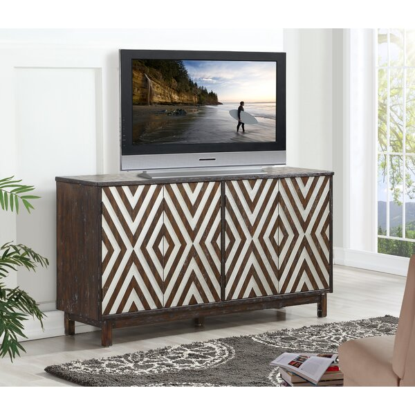 Atia Solid Wood TV Stand for TVs up to 75