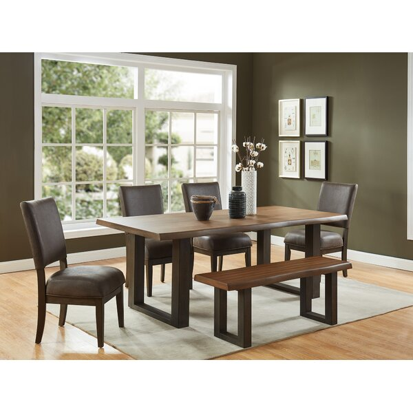Rockmart Live Edge Look 6 Piece Dining Set by Foundry Select