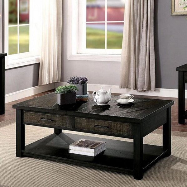 Sarcoxie Coffee Table With Storage By Loon Peak
