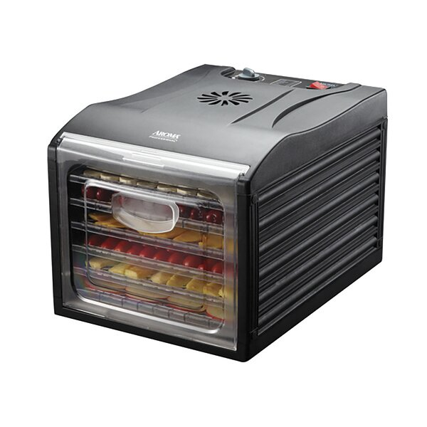 6 Tray Professional Electric Food Dehydrator by Aroma