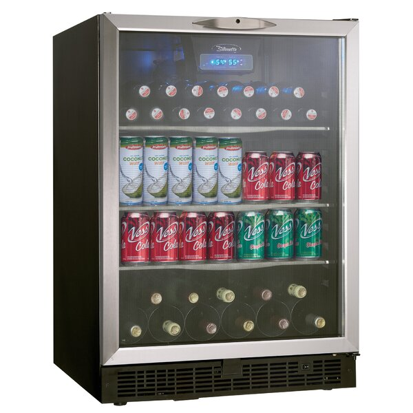 Silhouette 23.88-inch 5.3 cu. ft. Undercounter Beverage Center by Danby