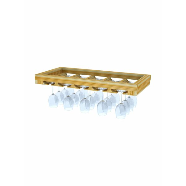 Florez Hanging Wine Glass Rack by Symple Stuff Symple Stuff
