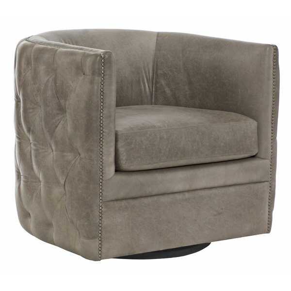 Palazzo Swivel Barrel Chair by Bernhardt