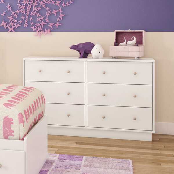 Cremont 6-Drawer Double Dresser by Harriet Bee