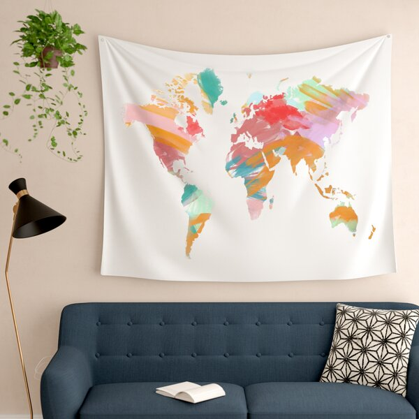 Wild World by Chelsea Victoria Wall Tapestry by East Urban Home