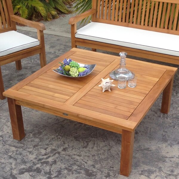 San Francisco Teak Coffee Table by Chic Teak