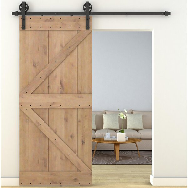 Solid Wood Room Dividers Interior Barn Door with Hardware Kit by Legion Furniture