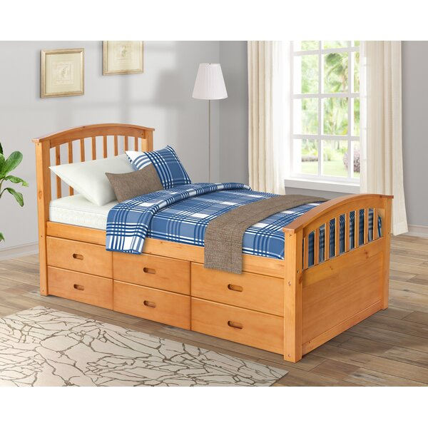 Brolin Twin Platform Bed with Drawers by Latitude Run
