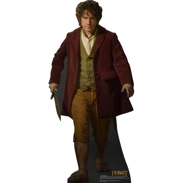 Bilbo - The Hobbit The Desolation of Smaug Cardboard Standup by Advanced Graphics