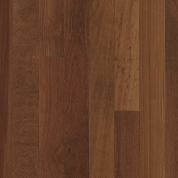 5 Solid Massaranduba Hardwood Flooring in Redwood by Albero Valley