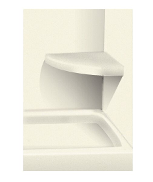 Solid Surface Built-in Shower Bench by Transolid