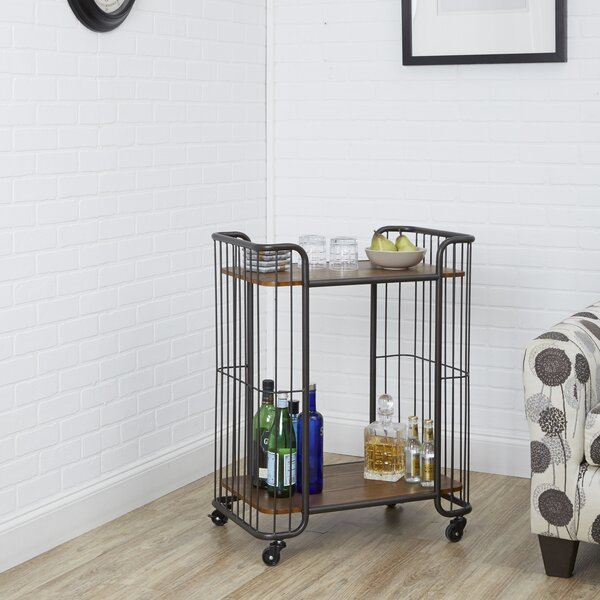 Astoria Bar Cart by 17 Stories