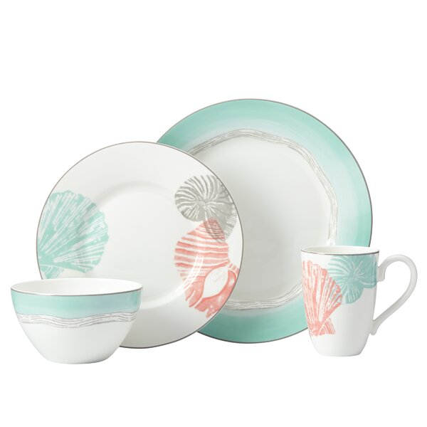 Sandy Point 4 Piece Place Setting, Service for 1 by Lenox