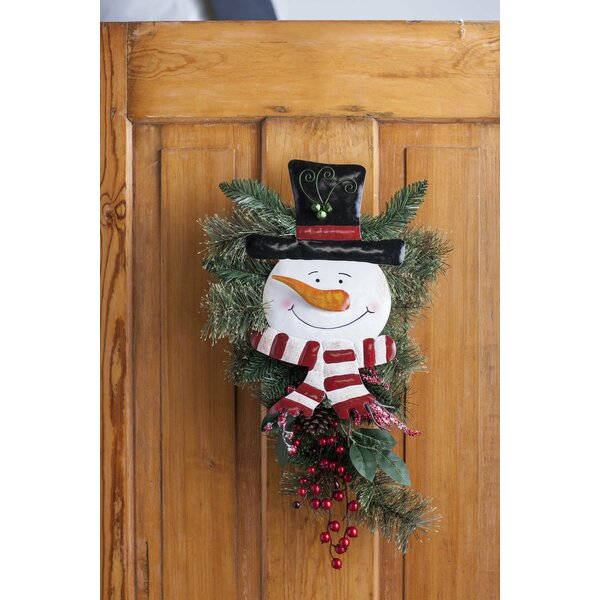 Holiday Door Swag by Plow & Hearth