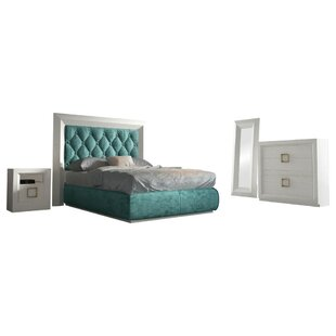 Kolar Panel 6 Piece Bedroom Set By Everly Quinn